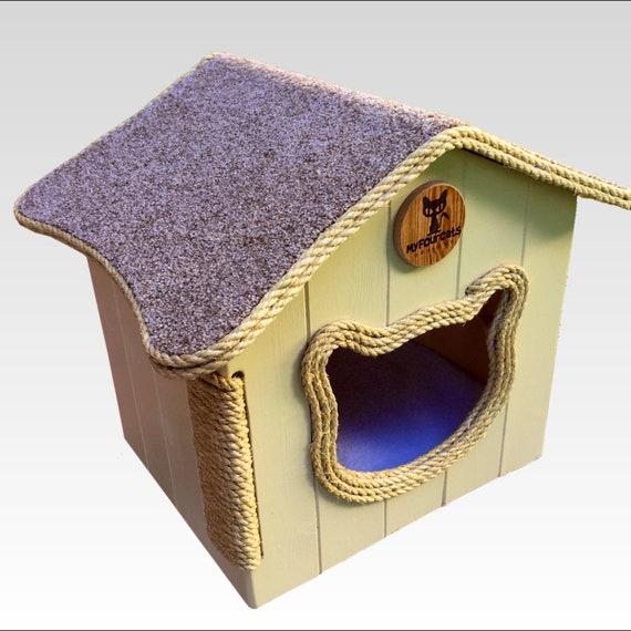 Cat Cottage Cat Bed Cat House Cat Condo cat cave cat cube cat pod cat box cat furniture cat play furniture