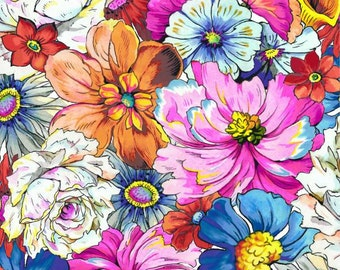 Paintbrush Studio - Fantasia - Packed Floral - Multi - Fabric by the Yard 120-11461