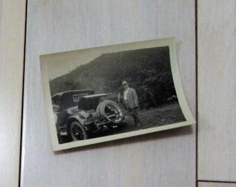 Vintage 1920's Car Photograph
