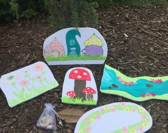 Fairy scavenger treasure hunt party game