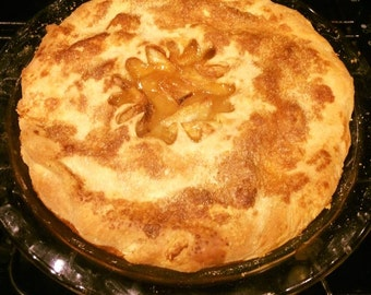 Fresh baked Apple pie. Local customers only.