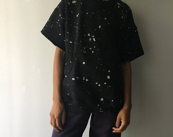 Crew Neck Paint Splatter