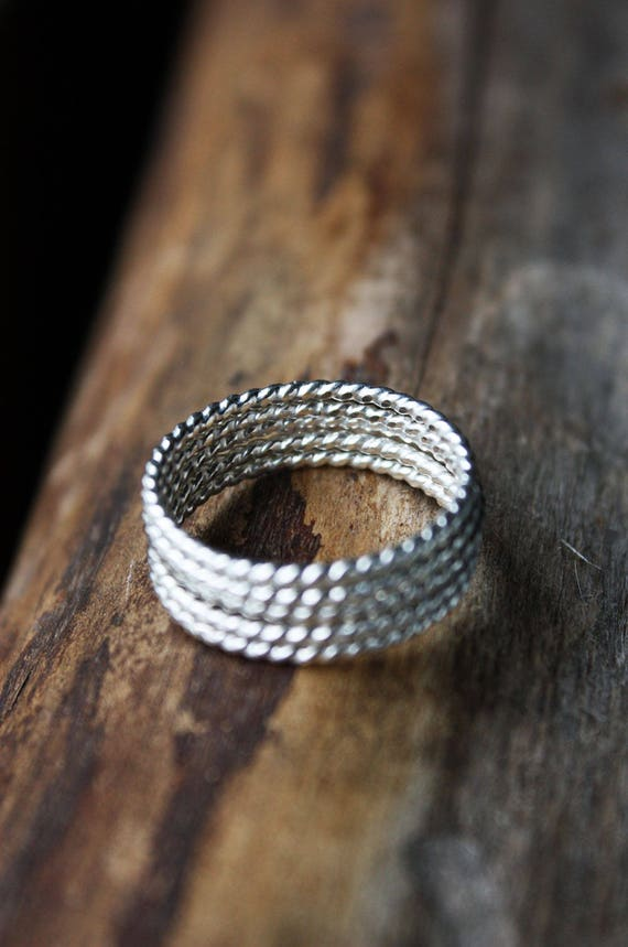 Silber Ringe Sterling Silber Stapeln Ringe dünne Ringe