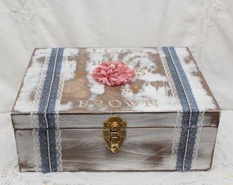 First Fight Box, First Fight Wine Box, Wedding Box, Ceremony, Wine Box Wedding,  Ceremony Box, Wood Box, Memory Box, Wedding Keepsake Box,