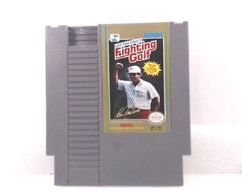 Vintage 1989 Video game Lee Trevino's Fighting Golf (Nintendo) NES
