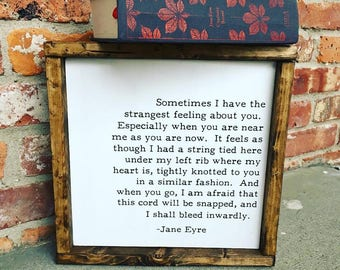 Jane Eyre Sign