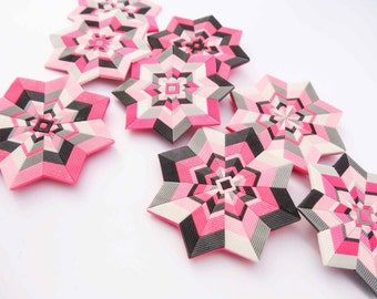 Polymer clay tutorial - Mandalas and bonus - hexagons!