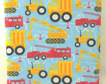 Fire Engines, Diggers, Tractors, and Dump Trucks Quillow!