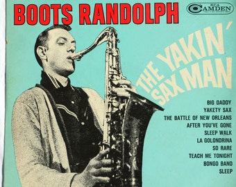 Boots Randolph -  The Yakin' Sax Man - 1964 - Vinyl - CAS 825