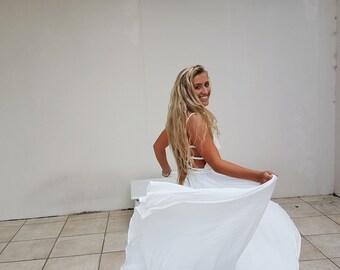 Wedding Dress Bohemian, Beach Wedding Dress, Wedding Dress Alternative, Wedding Dress Lace, Wedding dress Boho, Simple Wedding Dress