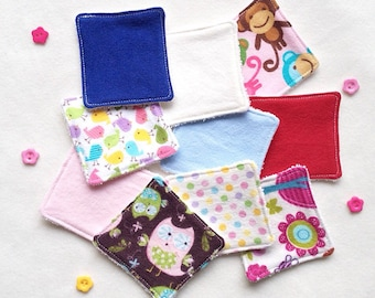 Surprise Me Mix Washable/Reusable Makeup Wipes*Pads. Soft and gentle on sensitive skin. 1 Set 5 Wipes*Pads in total