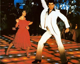 Saturday Night Fever Movie Poster Digital Print Various Sizes