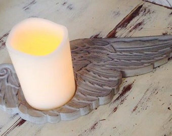 Latex Craft Mould To Make Angel Wings Candle Holder Reusable Art Crafts Hobby