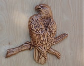 Wood Wall Art Bald Eagle ...