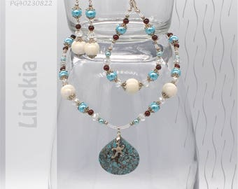 Jewelry Set | Necklace, Bracelet, Earrings | Linckia PG40230822
