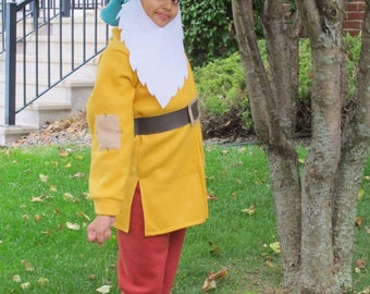 Dwarf costume to go with snow white upto  10 years