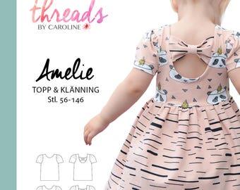 Amelie topp & klänning SWEDISH