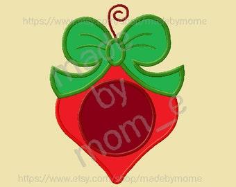 Ornament Applique for Monogram