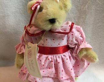 "North American Bear Company - 8"" Muffy VanderBear - Valentine's Day Dress (#073)"