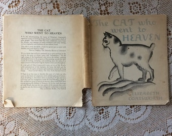 The Cat Who Went to Heaven by Elizabeth Coatsworth,  illustrated by Lynd Ward,  1931