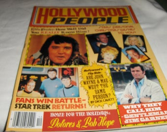Hollywood People magazine - December 1977