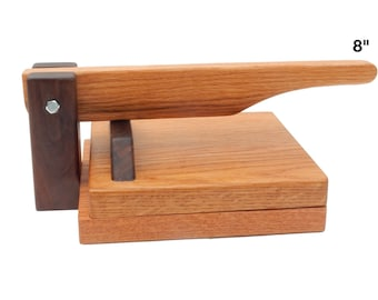 Hardwood Tortilla Press - Oak