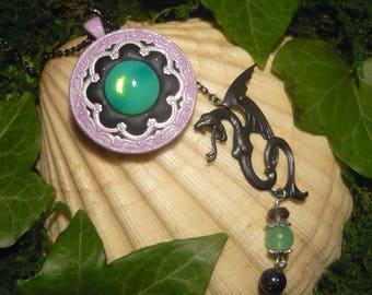 Dark Fairy Maleficent - handmade Necklace - Disney's Maleficent - Sleeping Beauty
