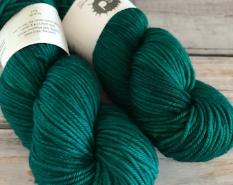 Journey Worsted in Scarab by Skeinny Dipping Yarn