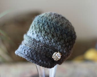 Crochet PATTERN Brighton Newsboy Cap Crochet Newsboy Hat Pattern Includes Sizes Newborn to Adult