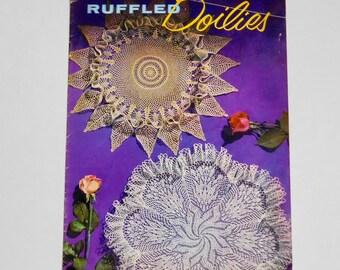 Ruffled Doilies 1954 Coats & Clarks Book No 306 Crochet Patterns