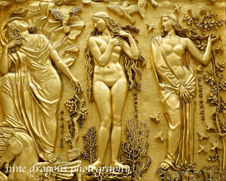 Golden Goddess Art New York City Photography Female Nude Spa