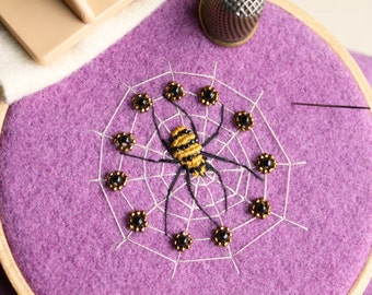 Sorceress of Spiders Embroidery