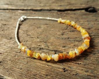 Opal Bracelet, Opal Jewelry, October Birthstone, Opal, Gemstone Bracelet, Bracelet, Jewelry, Ethiopian opal, delicate bracelet, boho