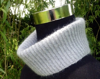 Cashmere spring mini snood, cowl, neck warmer, collar by Willow Luxury