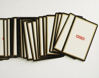 NCR Vintage Playing Cards / Geek Techie Game Gift Computer Memorabilia
