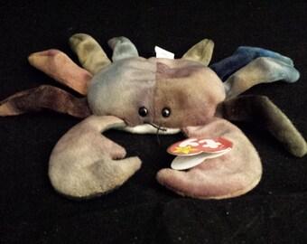 TY Beanie Baby - Crab, Claude - September 3, 1996