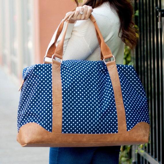 Charlie Dot Weekender Bag