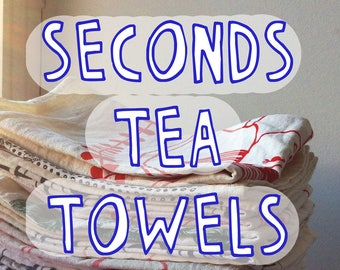 Seconds Tea Towel - Choose Your Design