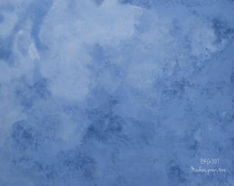 Food Styling Background - Blue Ocean - 007