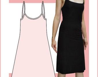 Sewing Pattern: Strap dress, knee length