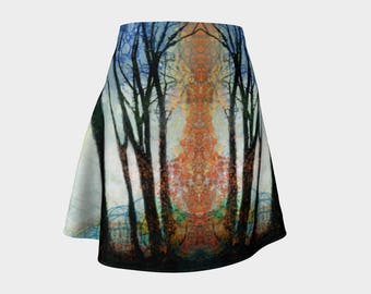 The Light in the Forest Flare Skirt