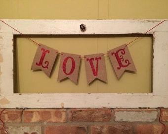 LOVE Banner~Valentine's Day Banner