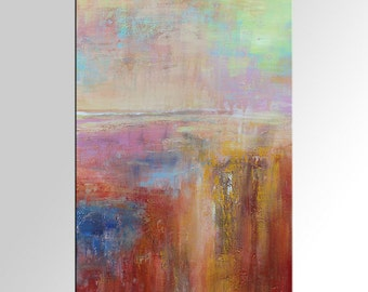 Abstract Wall Art, Abstract Landscape Painting, Canvas Art, LARGE Art, Original Painting, Abstract Art, Home Decor, Large Painting, Wall Art