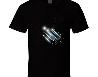 Night Sky With Shooting Stars Shirt.eps