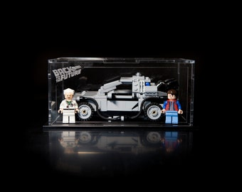 LEGO The Delorean Time Machine acrylic display case (21103)