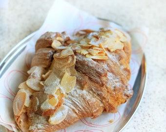 12 mini almond,fruits jam filled  croissants, french croissant, marzipan croissant, chocolate croissants,puff pastry croissant