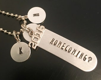 Homecoming Proposal Necklace or Keychain