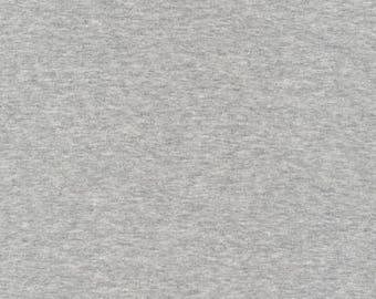 """RIB Knit - Heather Gray - Cloud9 Fabrics - organische Rib gebreide stof - gebreide stof - Rib gebreide stof - organische Knit - 54/55"""""""