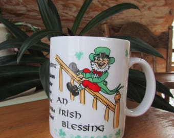 An Irish Blessing Coffee Cup Humorous