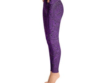 Paisley Design Purple